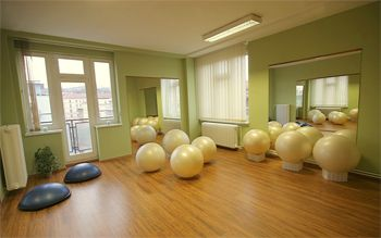 Fitbally a Bosu, studio myPilates